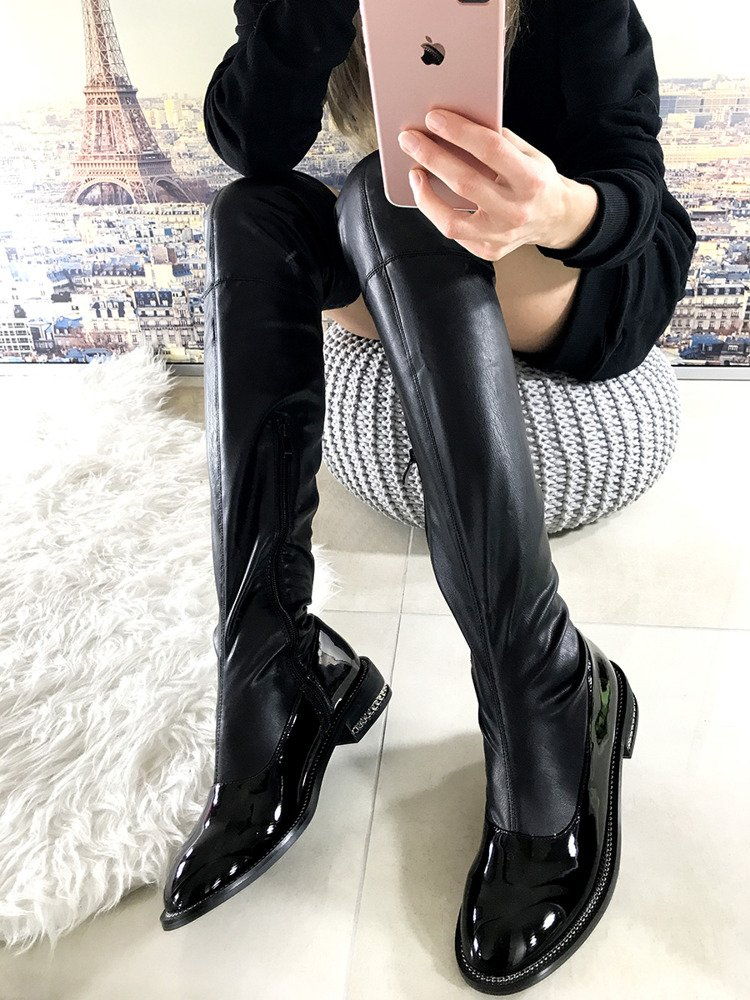 Knee High Boots Riding Style