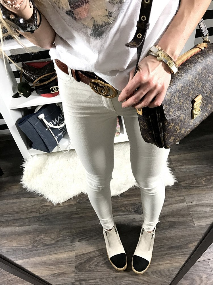 LU BOO NUDE ANKLE SHOES WITH FANCY ZIPPERS