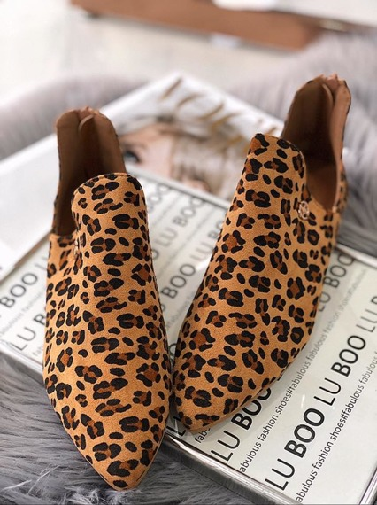 Black Chelsea Cut Out Boots
