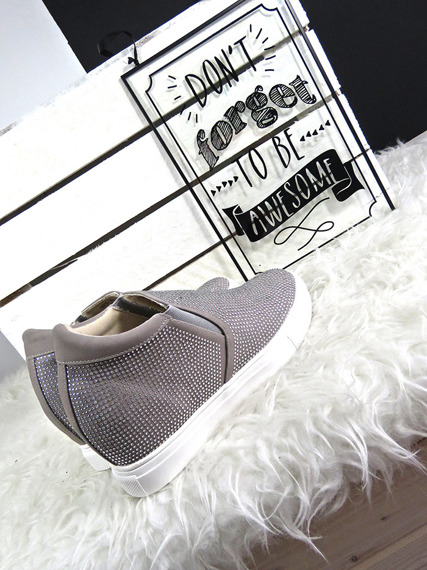 Sneakersy Trainers Wedge Slip On