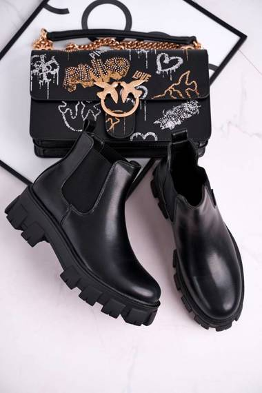 Women's Boots Black Morie