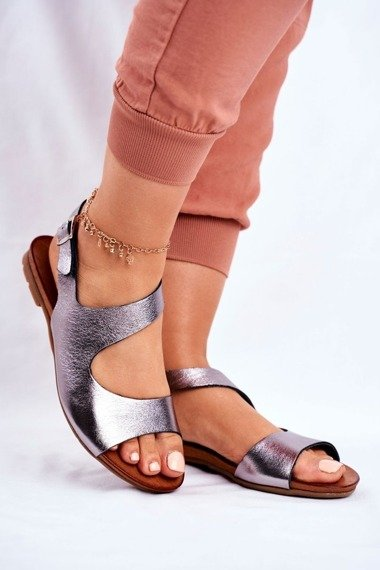 Women's Sandals Laura Mess 1116 Polish Leather Vollare