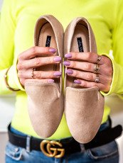 Beige classic loafers Vices
