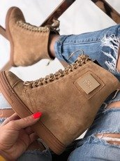 Camel Sneakers Trainers Cassi