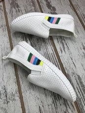 White Trainers flats Madlen