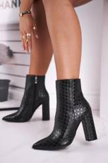 Women's Boots On High Heel Black Prudence