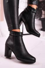 Women's Insulated Ankle Boots Sergio Leone Black BT306